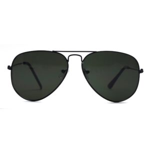 Ocnik Black Aviator Full Rim Aviator Sunglass 001