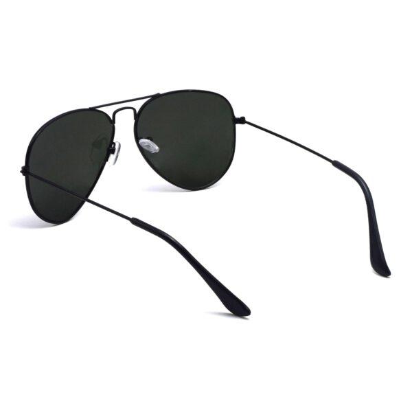 Ocnik Black Aviator Full Rim Aviator Sunglass 5