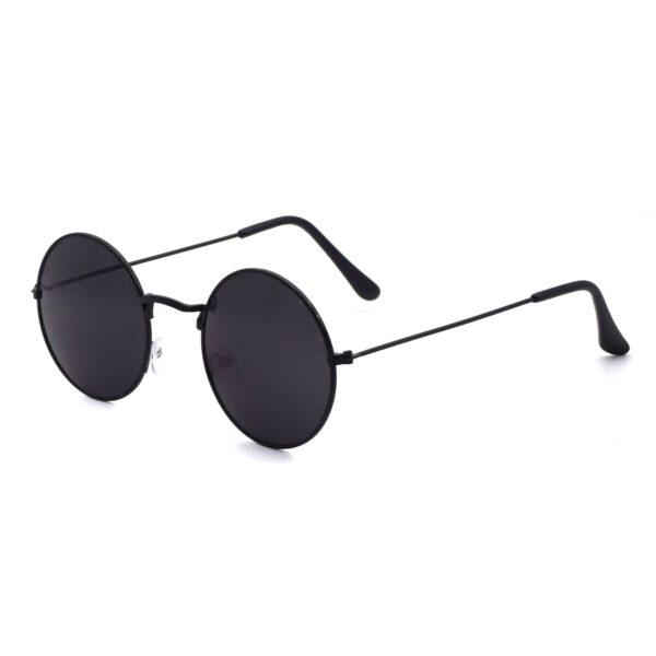 Ocnik Black Round Full Rim Uv Protection Sunglass 2
