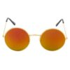 Ocnik Golden Mercury round metal sunglass 001