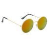 Ocnik Golden Mercury round metal sunglass 4
