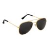 Ocnik Golden black aviator metal sunglass 2