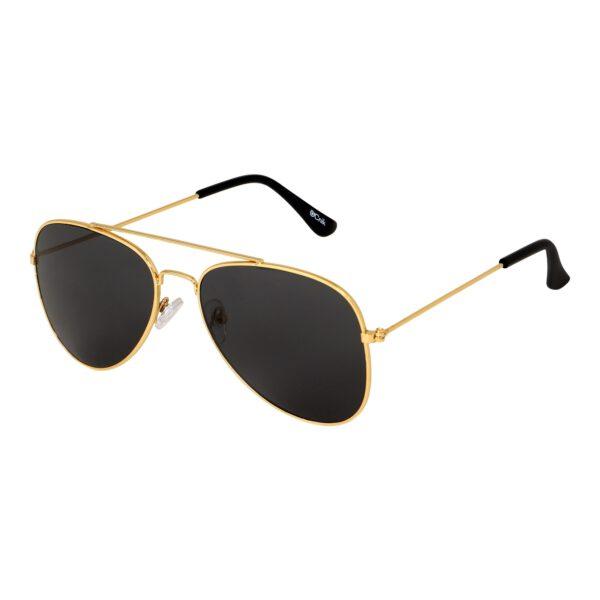 Ocnik Golden black aviator metal sunglass 3