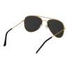Ocnik Golden black aviator metal sunglass 4