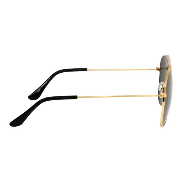 Ocnik Golden black aviator metal sunglass 5