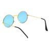 Ocnik Golden blue round metal sunglass 5