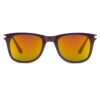 Ocnik RectangleGolden mercury Brown wayfarer Shape Sheet Sunglass