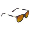 Ocnik RectangleGolden mercury Brown wayfarer Shape Sheet Sunglass 4
