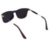 Ocnik RectangleGolden mercury Brown wayfarer Shape Sheet Sunglass 5