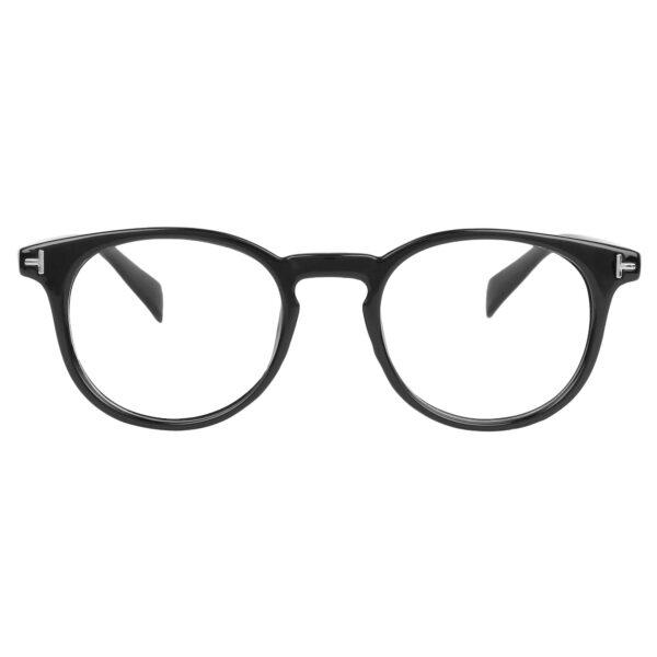 Ocnik Round Black Sheet Spectacle Frame for unisex