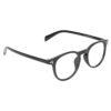 Ocnik Round Black Sheet Spectacle Frame for unisex 2