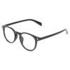 Ocnik Round Black Sheet Spectacle Frame for unisex 3