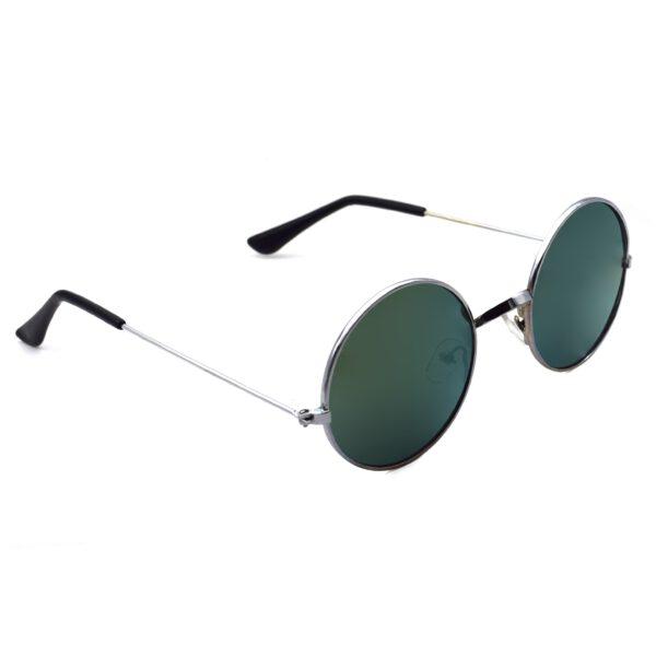 Ocnik Round Green Mercury Sunglass 2