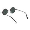 Ocnik Round Grey Metal Ghandhi Shape Sunglass 5