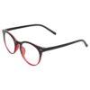 Ocnik Round Red Black Sheet Spectacle Frame 3