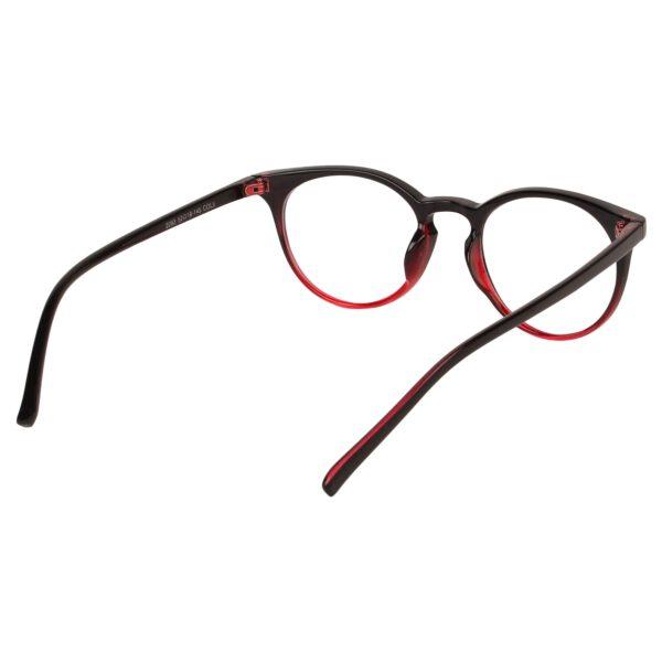 Ocnik Round Red Black Sheet Spectacle Frame 5