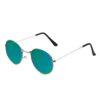Ocnik Silver Green Ovel Full Rim Uv Protection Sunglass 2