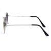 Ocnik Silver Green Ovel Full Rim Uv Protection Sunglass 3