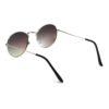 Ocnik Silver Green Ovel Full Rim Uv Protection Sunglass 5