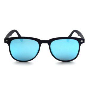 Ocnik blue mercury rectangle shape black color sheet sunglass for men
