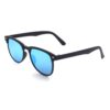 Ocnik blue mercury rectangle shape black color sheet sunglass for men 2