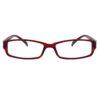 Ocnik wine brown color rectangle Sheet Spectacle Frame for unisex