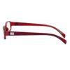Ocnik wine brown color rectangle Sheet Spectacle Frame for unisex 3