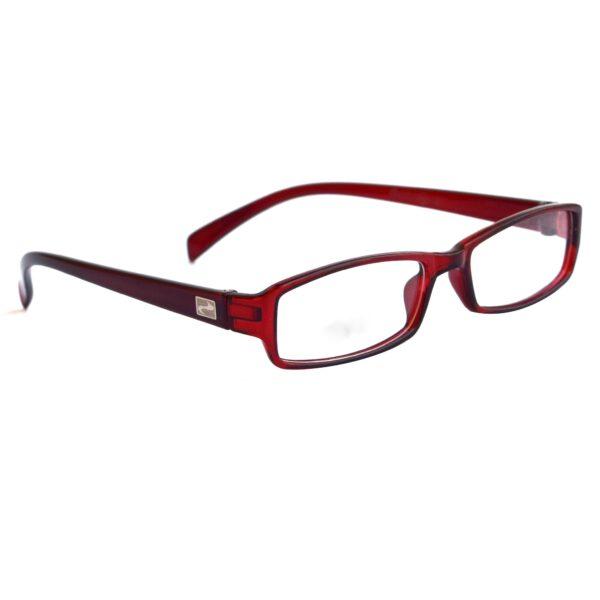 Ocnik wine brown color rectangle Sheet Spectacle Frame for unisex 4