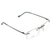 RIMLESS MATEL ODYSEY FRAMES BLUE light weight ocnik eyewear optical 270 002