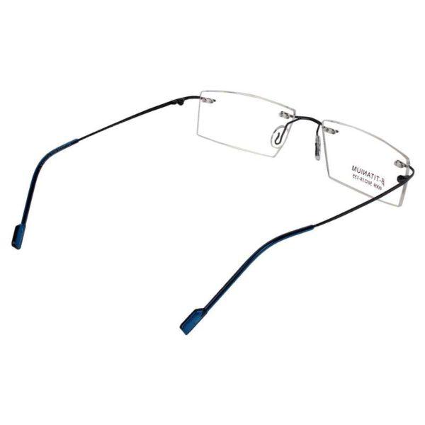 RIMLESS MATEL ODYSEY FRAMES BLUE light weight ocnik eyewear optical 270 003