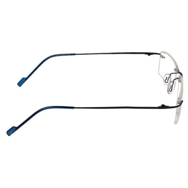 RIMLESS MATEL ODYSEY FRAMES BLUE light weight ocnik eyewear optical 270 005