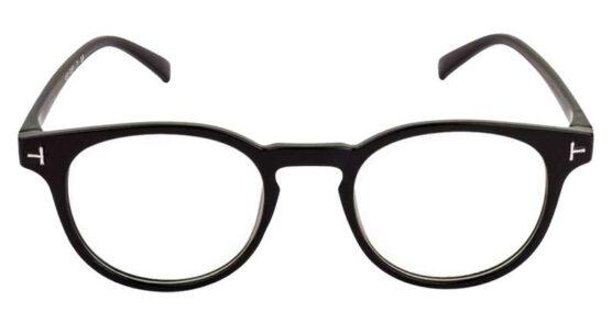 Round eye glass light weight frame 002