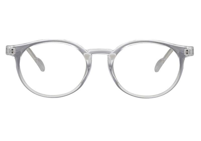 Round transeparent color light weight frame 001 1