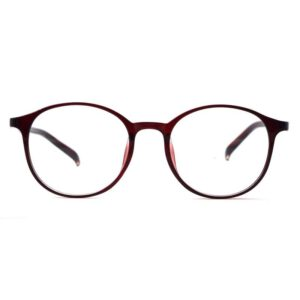 fancy eyeglass trendy panto frame round frame light weight 001 1