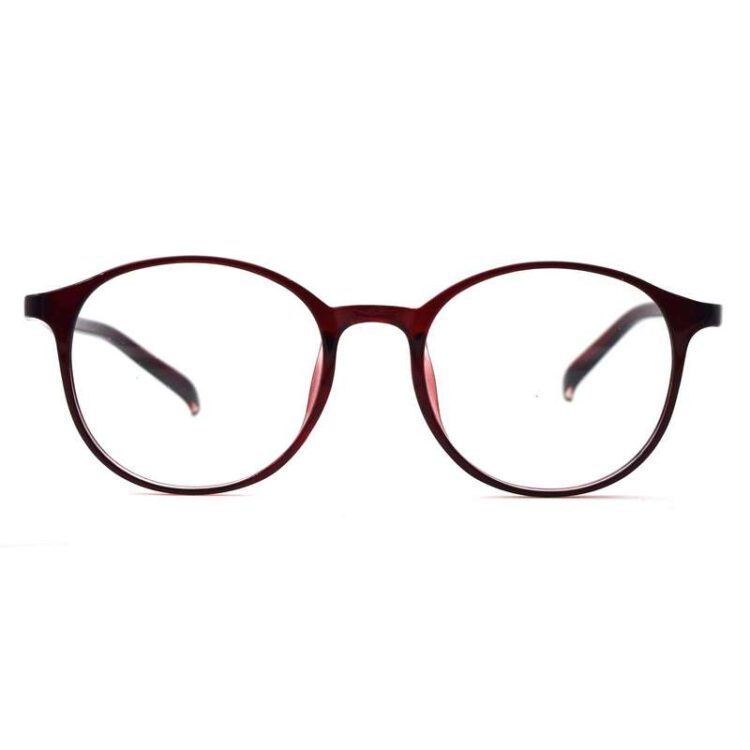 fancy eyeglass trendy panto frame round frame light weight 001