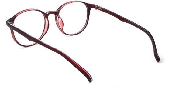 fancy eyeglass trendy panto frame round frame light weight 005