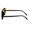 rectangle sunglass yellow black 003