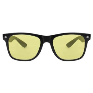sunglass sheet black light weight ocnik eyewear opticals yellow lence 001