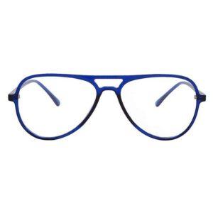 transparent blue light weight aviator sheet frame blue 001