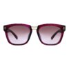 women sunglass pink metal sheet fancy 001 1